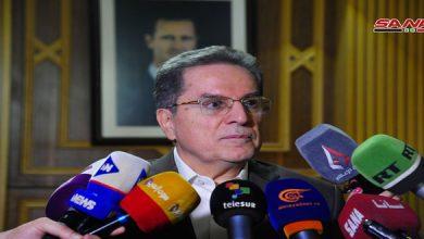 Photo of وزير العدل: تراجع نسبة المشاركة في انتخابات مجلس الشعب يعود إلى وباء كورونا ووجود سوريين في الخارج