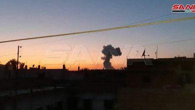 Photo of انفجار بمستودع ذخائر قرب أحد مقرات مجموعات (قسد) بالحسكة