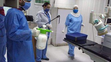 Photo of عمليات تطهير و تعقيم دورية في الهيئة العامة لمشفى دمشق