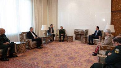 Photo of الرئيس الأسد يستقبل رئيس هيئة الأركان العامة للقوات المسلحة الايرانية اللواء محمد باقري