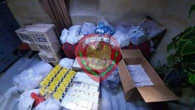 Photo of ضبط مستودع في دمشق ومصادرة كميات من الأدوية المهربة وغير النظامية