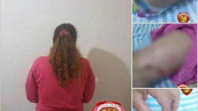 Photo of عذبت أولاد زوجها التوأم و مركز الشرطة الخارجي في جبلة يللقي القبض عليها