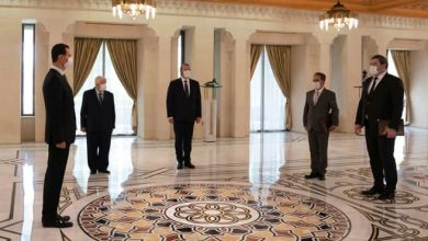 Photo of President al-Assad receives credentials of Algerian and Abkhazian Ambassadors