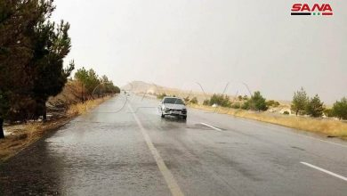 Photo of استمرار الأجواء الحارة مع فرصة لهطلات مطرية فوق المناطق الجنوبية والبادية والقلمون