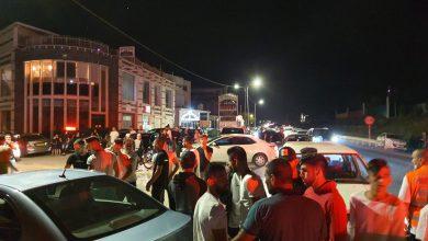Photo of حادث سير على مدخل قرية بقعاثا الشمالي في الجولان السوري المحتل