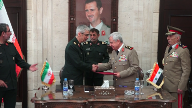 "Photo of بمقر وزارة الدفاع السورية… ""قمة عسكرية"" إيرانية – سورية (فيديو)"