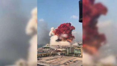 Photo of انفجار ضخم بمرفأ بيروت يسفر عن سقوط جرحى – فيديو