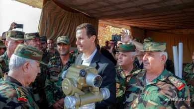Photo of President al-Assad on Army Day: You have always been with our people in all phases of the terrorist war as masters and free men