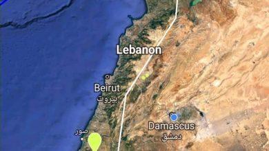 Photo of هزة أرضية متوسطة الشدة على الحدود السورية اللبنانية