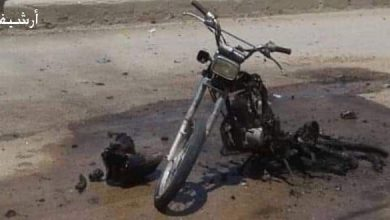 Photo of A civilian martyred, seven injured in explosion of a motorcycle bomb in Aleppo northern countryside