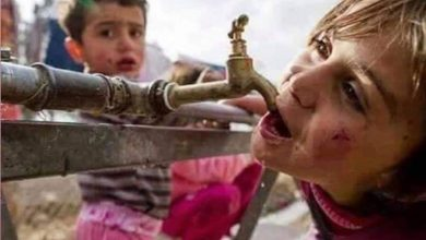 Photo of Turkish occupation continues to cut off water from Hasaka city