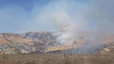 Photo of قوات الاحتلال تفتعل حريقاً في المنطقة المحرّرة شرق بلدة مجدل شمس المحتلة