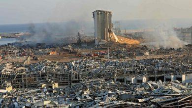 """Photo of Lebanese President Michel Aoun announces Beirut as a """"disaster city"""""""