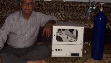 Photo of جهاز تنفس صناعي بواسطة الأمبو ابتكره المخترع أجود شجاع من السويداء