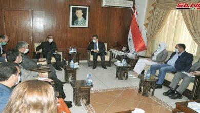 """Photo of مباحثات """"سورية – إيرانية"""" لتعزيز التعاون في اعادة الإعمار"""