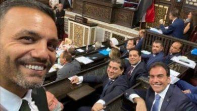 """Photo of رغم وجع السوريين… """"هوليود سمايل"""" في مجلس الشعب"""