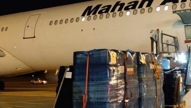 Photo of وصول أول طائرة إيرانية من أصل 4 تحمل مساعدات إنسانية إلى بيروت