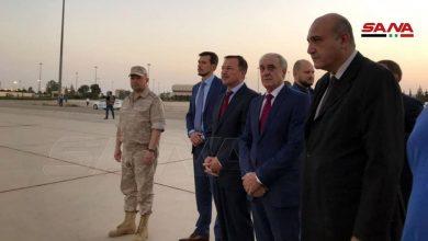 Photo of لتعزيز التعاون…  وفد روسي يصل إلى دمشق
