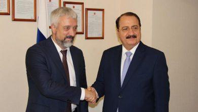 Photo of السفير حداد يبحث سبل تعليم الطلاب السوريين في روسيا عن بعد
