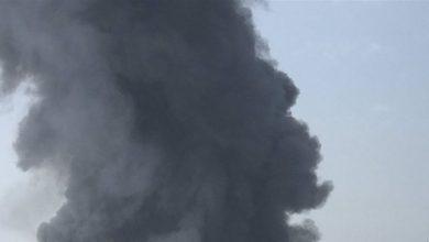 Photo of حريق كبير في مرفأ بيروت