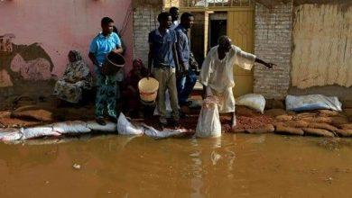 Photo of فيضان نهر النيل في السودان غَمَرَ عشرات القرى بالكامل