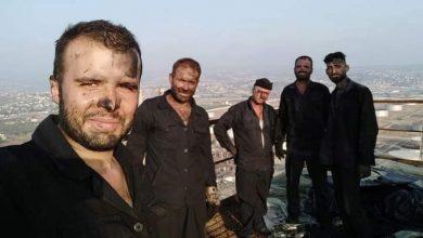 """Photo of على ارتفاع 168 متر… جهود عمال الصيانة بـ """"مصفاة بانياس"""" – صور"""
