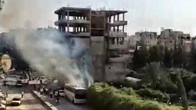 Photo of اندلاع حريق في حي القريات بريف دمشق