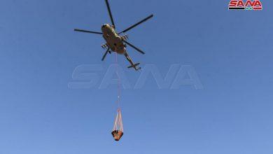 Photo of بالصور – انطلاق حومات الجيش العربي السوري للمشاركة بإطفاء حرائق مصياف