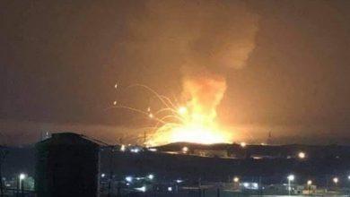 Photo of انفجار بمستودع اسلحة للجيش الإردني