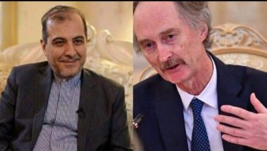 Photo of Iranian official, UN Envoy for Syria discuss efforts to solve crisis in Syria
