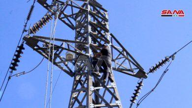 Photo of الانتهاء من صيانة أعطال الشبكة الكهربائية الناجمة عن الحرائق في ريف طرطوس