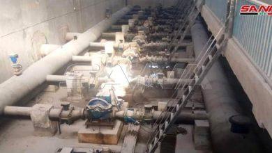 Photo of إعادة تغذية محطة آبار علوك في الحسكة