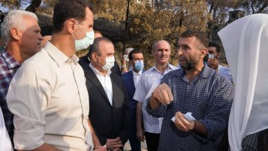 Photo of «الرئيس الأسد» يزور قرى الساحل التي طالتها الحرائق