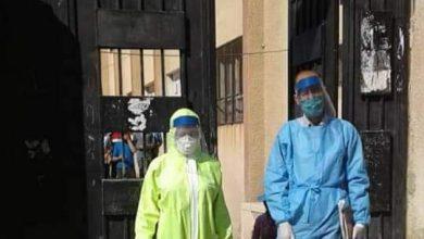 Photo of فريق صحي يزور عدة مدارس بالسويداء على خلفية إصابات كورونا فيها