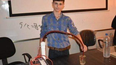 Photo of طالب سوري في الصف التاسع  يعرض حلاً لازمة البنزين في البلاد