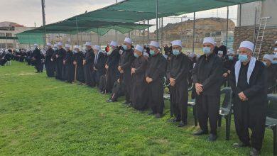 Photo of مراسم تشييع المرحوم  «الشيخ ابو زين الدين الحلبي» في مجدل شمس(صور)