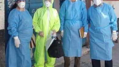 Photo of فريق الكشف الوبائي يزور مدرسة كمال عبيد في السويداء