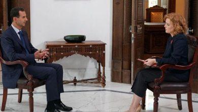 Photo of النص الكامل لمقابلة «الرئيس الأسد» مع قناة زفيزدا الروسية