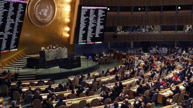 Photo of قرار الجمعية العامة للأمم المتحدة بسيادة السوريين في الجولان المحتل