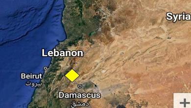 Photo of هزة أرضية شمال شرق دمشق