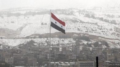 Photo of ثلوج على أبواب سوريا في بعض المناطق