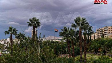 Photo of أمطار دمشق منذ قليل.. (صور)