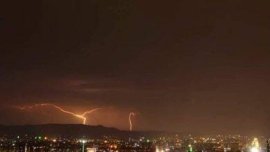 Photo of منذ 5 ساعات.. عواصف رعدية ومطرية فوق دمشق وريفها