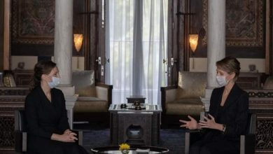 Photo of Mrs. Asma Al-Assad received this morning Mrs. Anna Kuznetsova, Commissioner of the President of the Russian Federation for Children's Rights (photos)