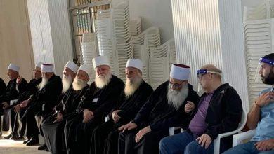 Photo of مراسم التعازي بالشيخ أبو سليمان حسيب الصايغ في لبنان