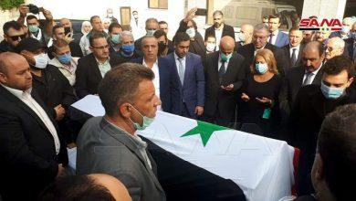 """Photo of انطلاق موكب تشييع سيّد الدبلوماسية السورية """"وليد المعلم"""" من مستشفى الشامي بدمشق(صور)"""
