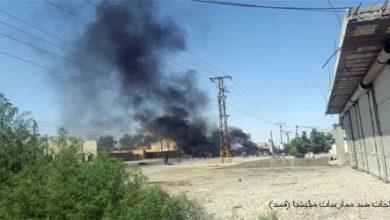 "Photo of مقتل مسلح من ميليشيا ""قسد"" وإصابة آخرين بريفي الرقة والحسكة"