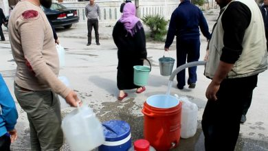 Photo of Drinking water pumped to Hasaka neighborhoods after 25 days of being cut off by Turkish occupation