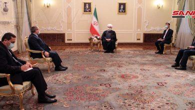 Photo of روحاني: إيران ستقف دائماً إلى جانب سوريا حكومة وشعباً