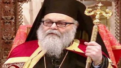 Photo of Patriarch Yazigi: We pray for the return of peace and stability to Syria